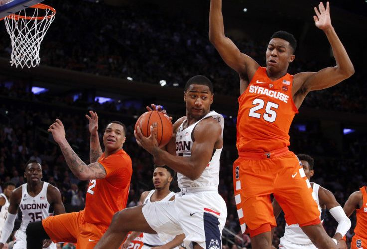 UConn needs fighting attitude to get back into hunt = No matter how and no matter when you evaluated Connecticut's 2016-17 basketball schedule, it was obvious the two games slated for this week would go a long way in determining the type of season the Huskies would have. The stakes.....