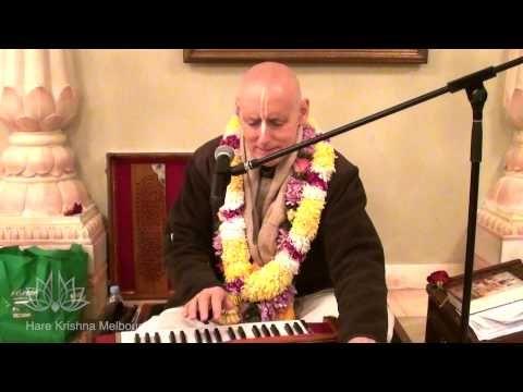 HG Sriman Sankarshan Das Adhikari - Kirtan - Hare Krishna Melbourne 2013 - YouTube