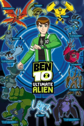 Ben 10 Ultimate Alien (Aliens) Poster
