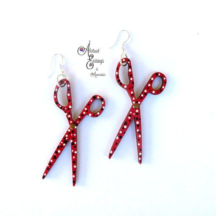 25 best Scissor Earrings images on Pinterest | Bicycle ...