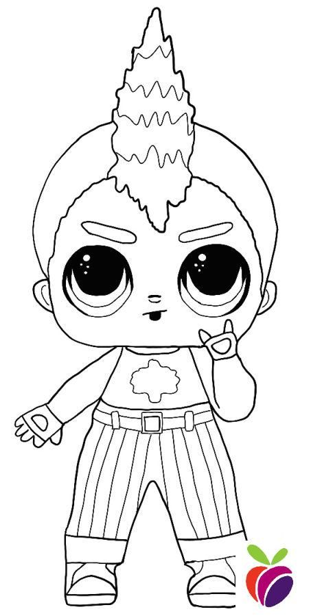 Lol Surprise Boys Coloring Page Nightfall In 2020 Coloring Pages For Boys Cute Coloring Pages Boy Coloring