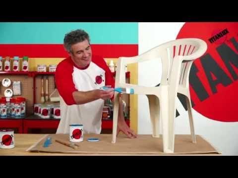 Cómo pintar sobre plástico - YouTube con Unilak