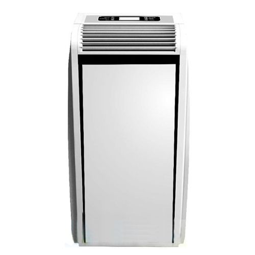 Portable air conditioner TCL TAC-09CPA / V 2.5kW cooling capacity is an effective cooling of housing, office, or shop with an area of 15-20m2. TCL air conditioner is a device 4in1 cooling, heating, dehumidification and ventilation. Modern design of the air conditioner, high functionality, intuitive operation of the air conditioner (pilot) and energy efficiency (Class A) makes is very popular. It keeps the room comfortable and healthy air free of allergens.