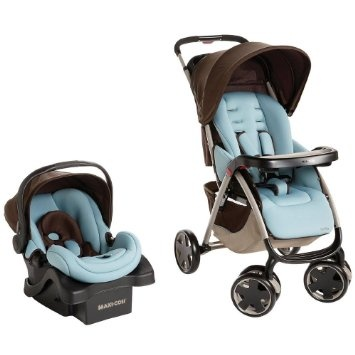 Maxi-Cosi Leila Travel System (integrated carseat + stroller).