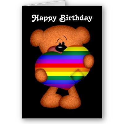 birthday cards for gay