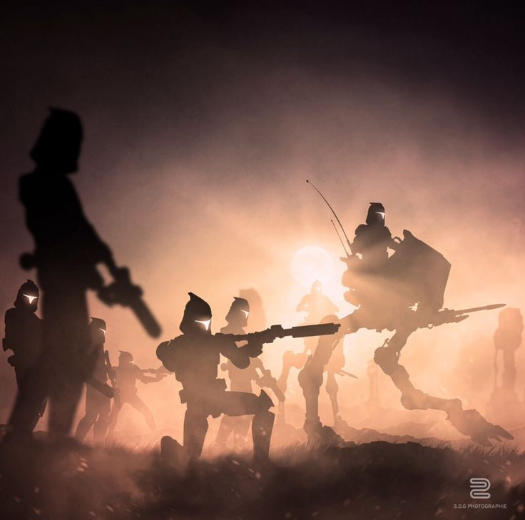 These Star Wars Artworks Were Made by Photographing Action Figures | artist Sebastien Del Grosso