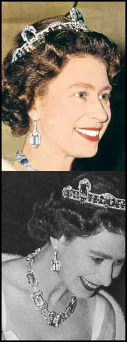 More British Royal Tiaras - Queen Elizabeth, so young and truly happy! Great picture of her