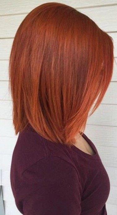 Doksanlı Yılların Bakır Rengi Saç Modeli