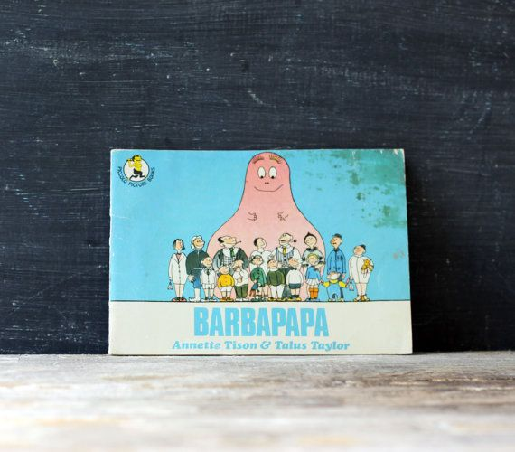 Vintage Kid's Book Barbapapa Seventies by BonnyBlytheVintage, $5.00