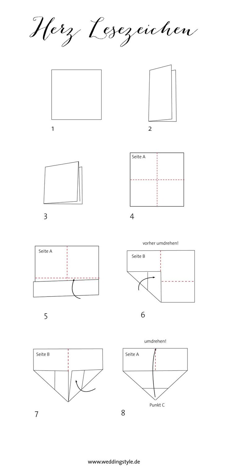 die besten 25 buch falten anleitung herz ideen auf pinterest b cher falten lernen book. Black Bedroom Furniture Sets. Home Design Ideas