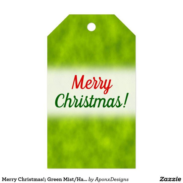 Merry Christmas!; Green Mist/Haze/Fog-Like Pattern