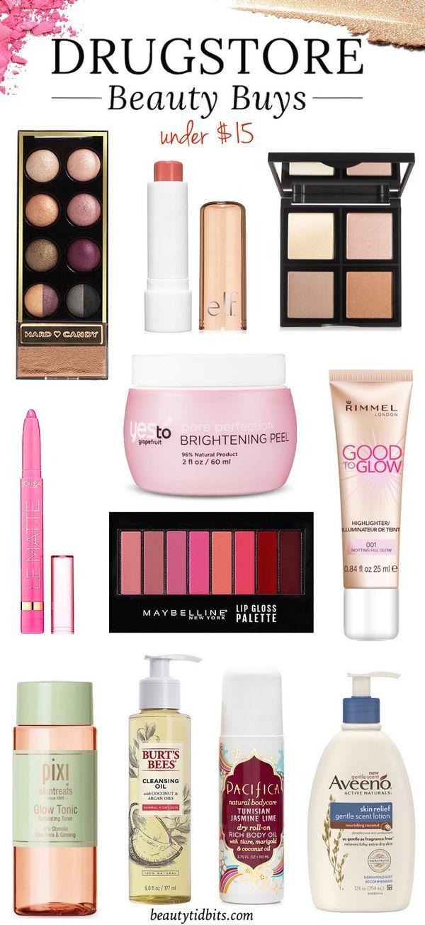 Beauty Buys Under $15 via @beautytidbits