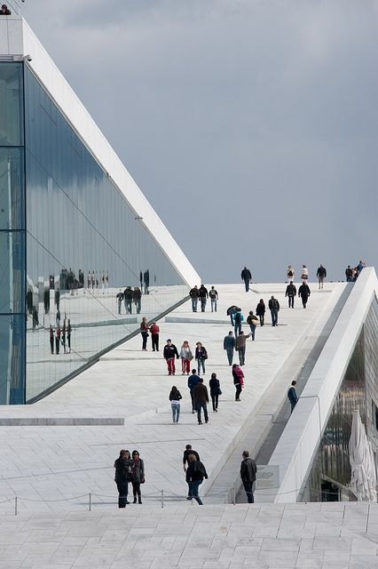 Oslo opera house, Norway Look to #Norway for a new #job! http://www.jobsearch.no/in-english/ #jobs