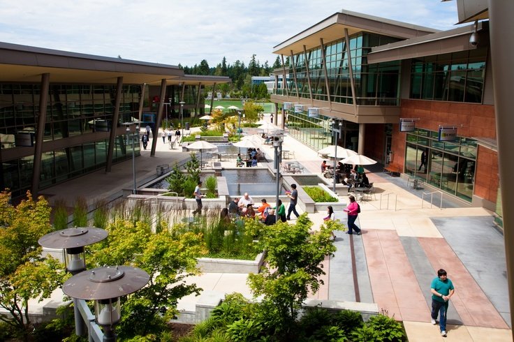 At The Commons, Microsoft HQ, Redmond Campus
