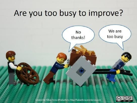 When should we stop improving ourselves?