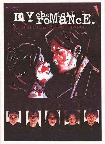 Three Cheers for Sweet Revenge! And, three cheers for this sweet My Chemical Romance poster! Album cover art by Gerard Way. Ships fast. 25x35 inches. Need Poster Mounts..? bm8341
