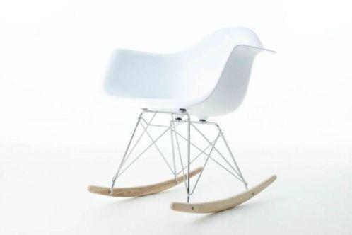 RAR design kinder schommelstoel wit | Designstoelen kinderen | TE LEUK HOUT