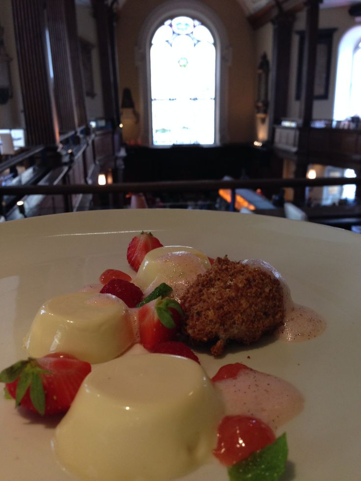 Some more amazing homemade desserts from the gallery restaurant at the church.
