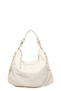 Steve Madden - White Bweaved Hobo Bag $98 torrid.com  (as a note:  I have a bag almost exactly like this from Sear's for 20 :)