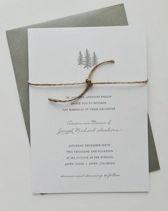 Winter Wedding Stationary. Perfect for your winter wedding at the Lodge at Leathem Smith. #Sturgeon Bay #Door County #Leathem Smith