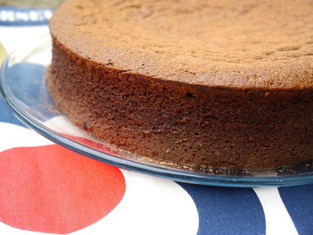 Not Just A Pretty Plate: Dreamy Chocolate Mousse Cake - Baking For Sport Relief 2016