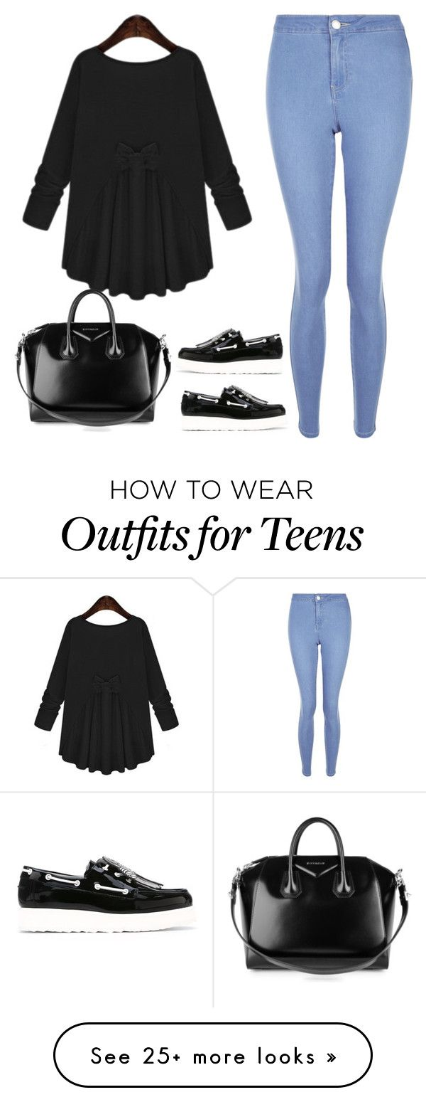 """""""Let the rain to pass"""" by cecilialukas on Polyvore featuring New Look, Pierre Hardy and Givenchy"""