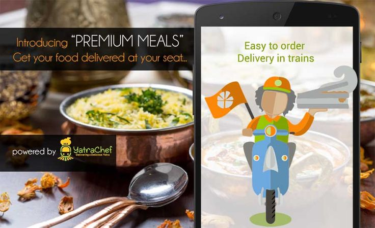 #FoodInTrain , Now enjoy DeliciousMealinTrain. Visit RailYatri and place order whatever you want to eat and get delivery in running train.   Can download mobile app at: https://play.google.com/store/apps/details?id=com.railyatri.in.mobile , smart app to check pnr status, live running train status of Indian Railway etc  Web version: http://www.railyatri.in/pnr-status