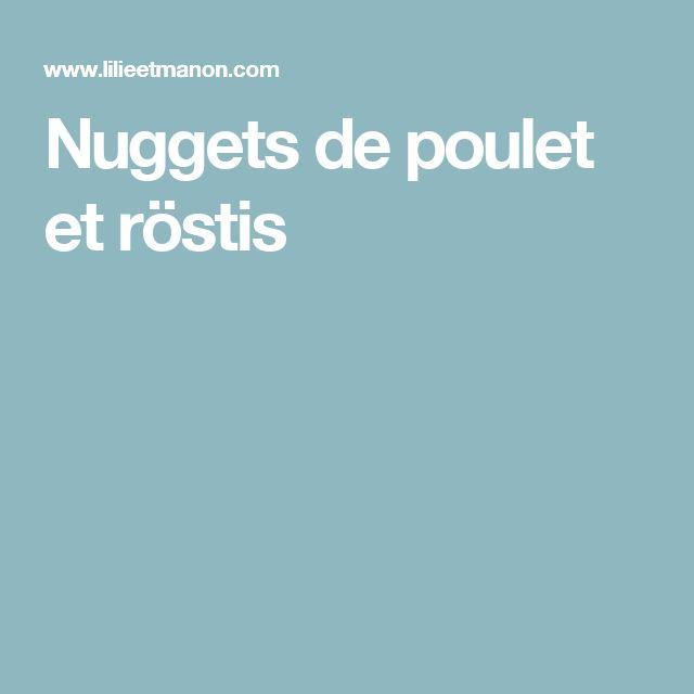 Nuggets de poulet et röstis