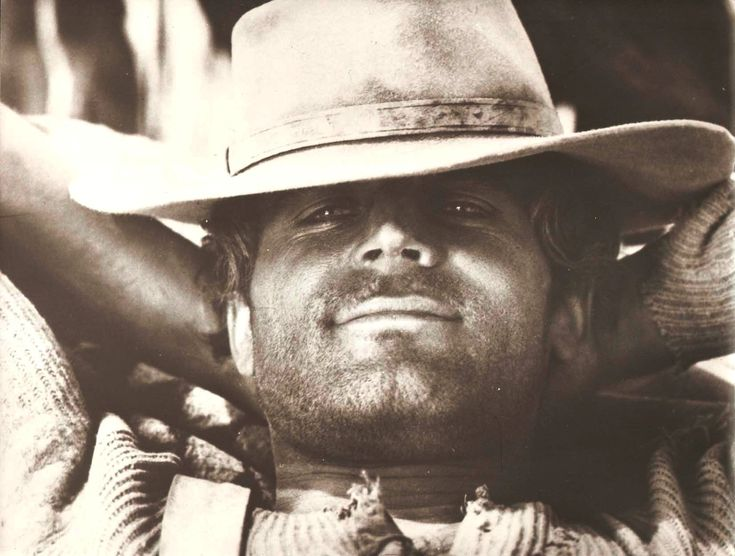 Terence Hill in Trinity Is Still My Name Original Vintage Portrait
