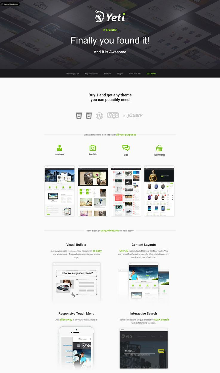 73 best Creative One-Page Websites images on Pinterest | Creative ...