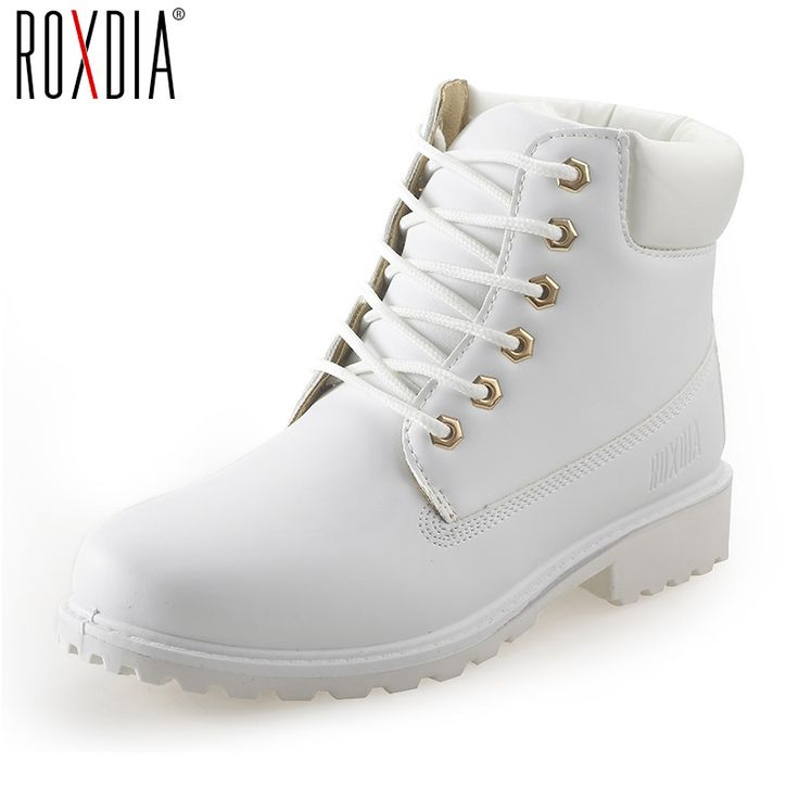 ROXDIA autumn winter women ankle boots new fashion woman snow boots for girls ladies work shoes plus size 36 41 RXW762-in Ankle Boots from Shoes on Aliexpress.com | Alibaba Group