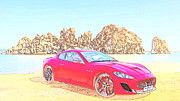 "New artwork for sale! - "" Maserati Granturismo Mc  by PixBreak Art "" - http://ift.tt/2lqkrcg"