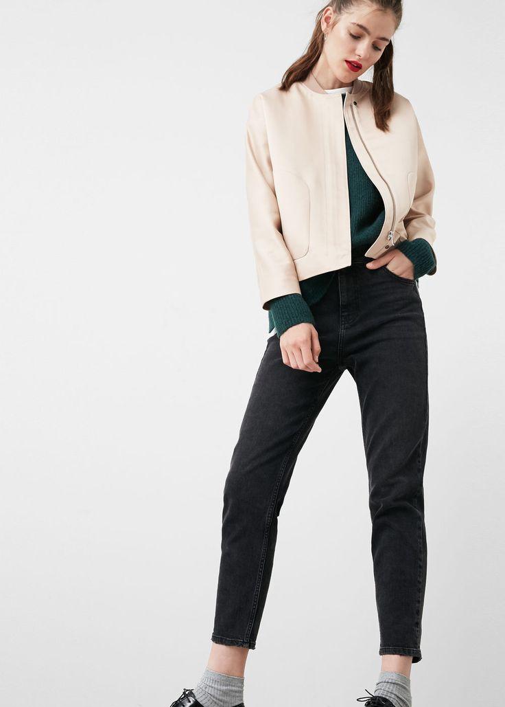 Relaxed fit jeans in 7/8-länge mom - Jeans für Damen | MANGO Deutschland
