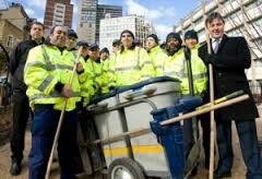 Post construction crew