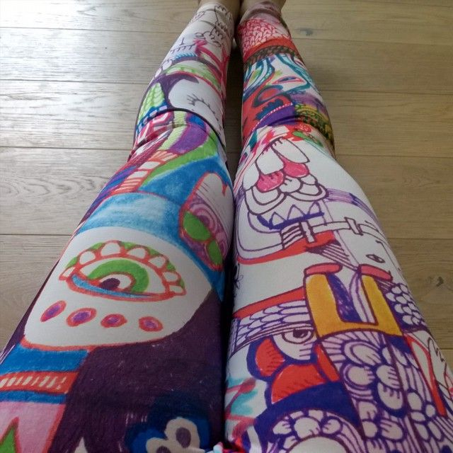Leggings! society6.com/hannaruusulampi #society6 @society6 #leggings #digitalprinting