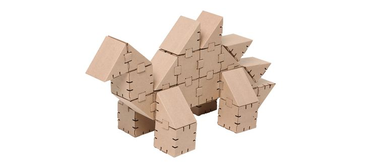 Cardboard dinosaur Stego