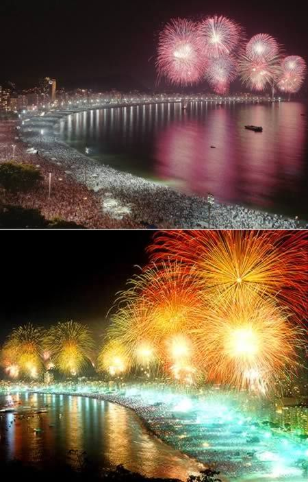 10 Most Breathtaking New Year's Eve Fireworks (firework pictures, new years eve fireworks) - ODDEE
