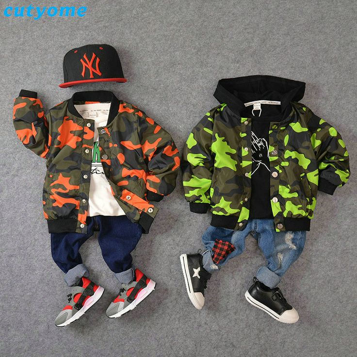 2017 Promotion Spring Camouflage Bomber Jacket For Kids Boys Army Children Coats Sleeve Windbreaker Outwear Clothes Softshell
