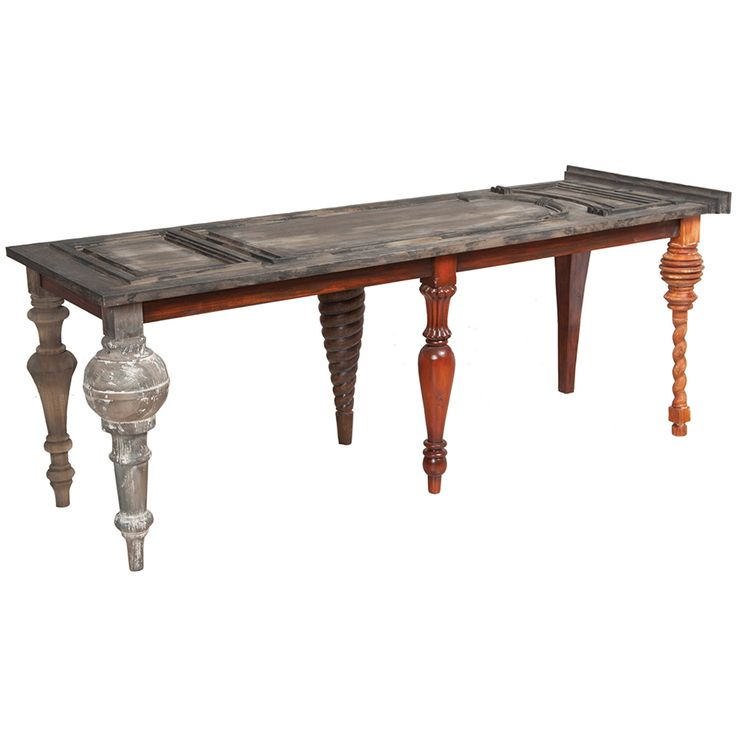 Furniture :: Console Tables :: Old World Door Sofa Table