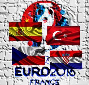 Café y Fútbol: Eurocopa Francia 2016 Grupo D