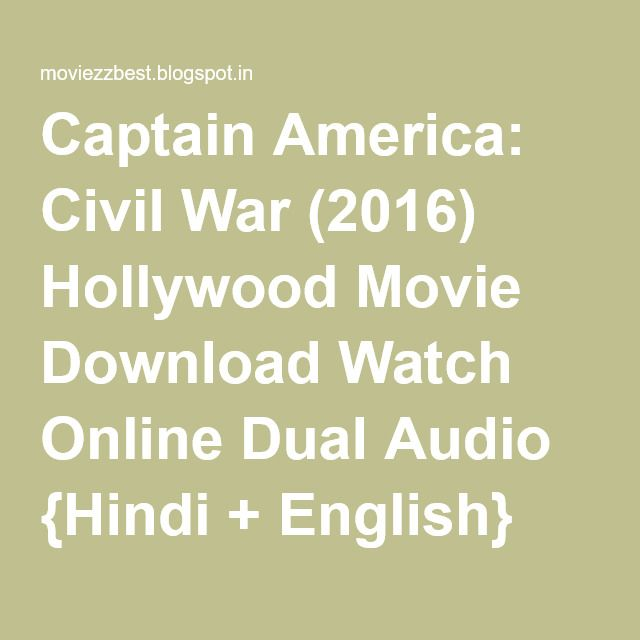Captain America: Civil War (2016) Hollywood Movie Download Watch Online Dual Audio {Hindi + English} Bluray | Watch And Download Full Movie Free