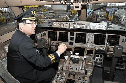 JAL ボーイング777-200の動翼を見る - Car Watch