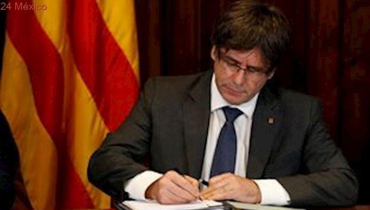 Cataluña llama a votar sobre referéndum de independencia