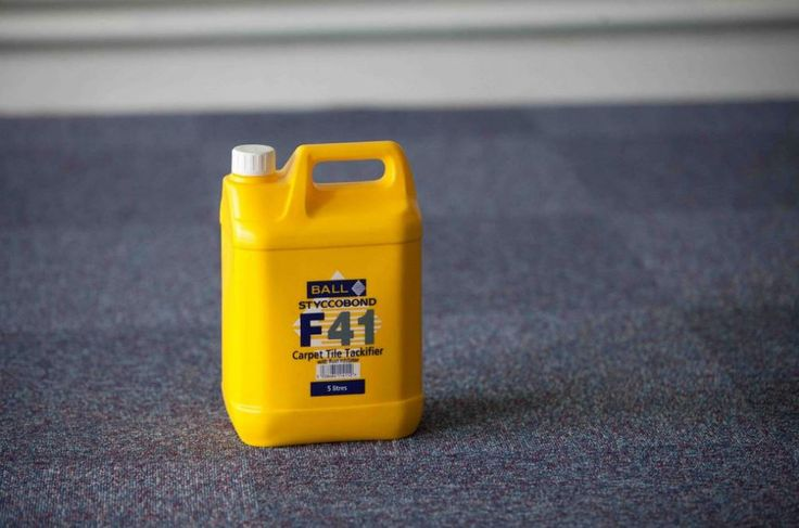 F. Ball Styccobond F41 carpet tile tackifier was used to install new carpet tiles at a sugar-manufacturing site in Newark.