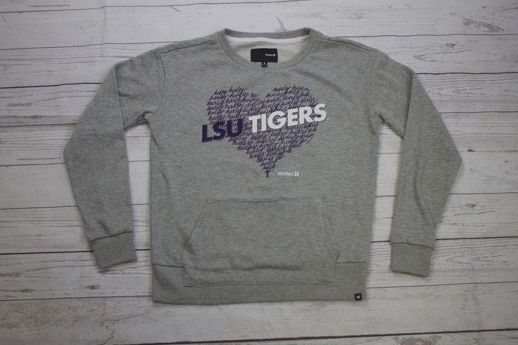 LSU Heart Crew Sweatshirt