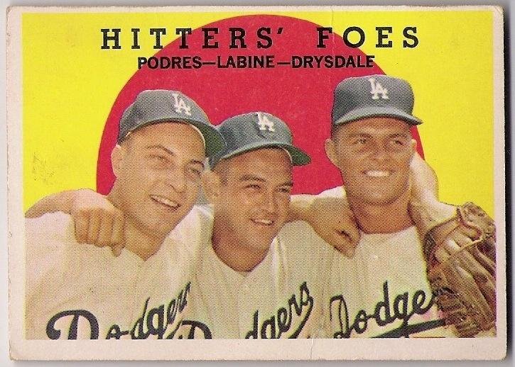 Podres baseball card 1959