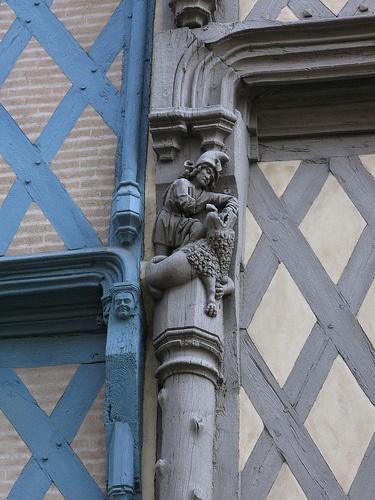 Angers - Détail.