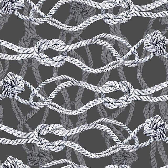 New design available now exclusively in Patternbank Premium #ropes #pattern #print #premiumdesigns