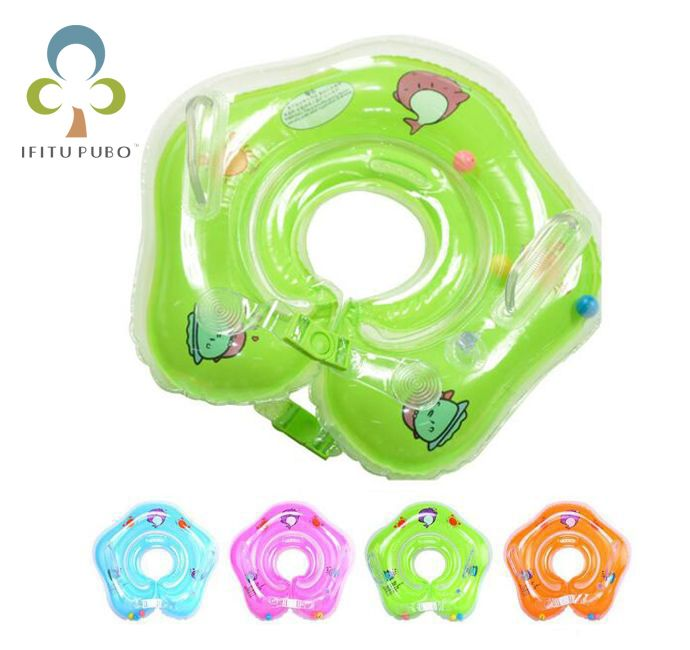 Baby Aufblasbare Schwimmen Ring Sicherheit Spielzeug pool schwimmen Schwimmen Neck aufblasbaren Schlauch Babys float pool Schwimmring für 0-2 Jahre GYH