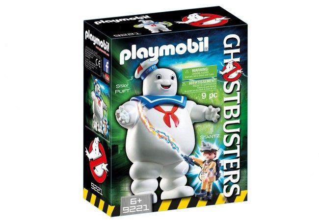 Playmobil Ghostbusters Bibendum Chamallow et Stantz - Castello | Jeux et Jouets